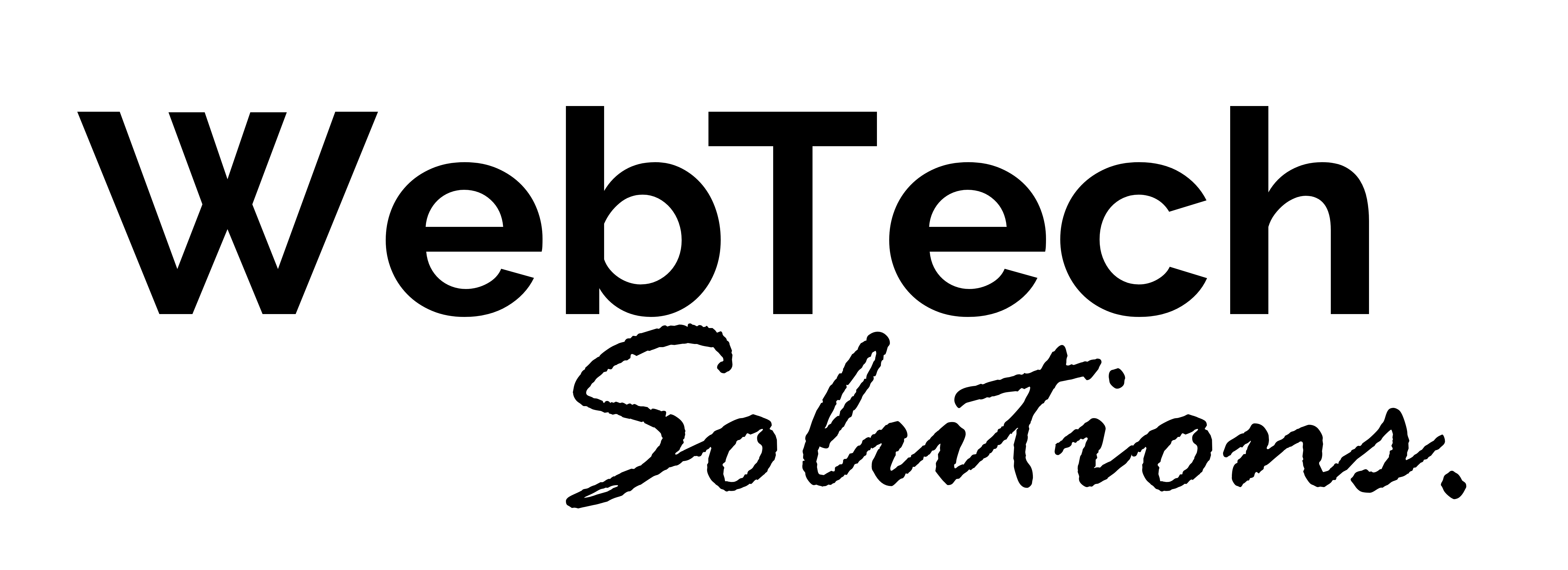 WebTech Solutions Logo | Web design in Manchester